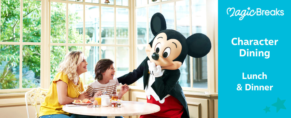 Disney Character Meals, Disneyland Paris